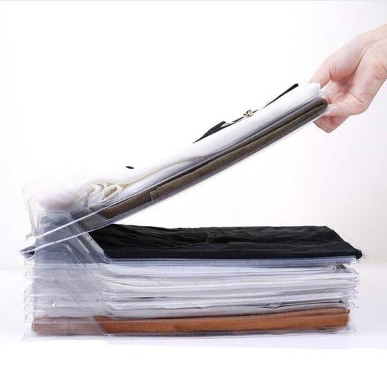 Shop 10pcs/lot Automatic Folding clothes board Shirt Folder