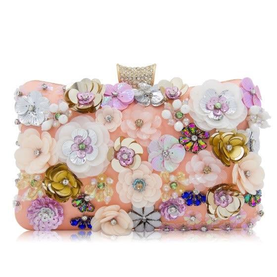 90e85d41d08c Milisente Ёенщин цветок вечер сцепления мешок дамы муфты мешки ёенский  цветочные Свадебные кошельки