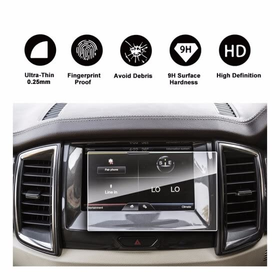 Shop 2016 2017 2018 Ford Endeavour 8-Inch 175*105MM exclusive use