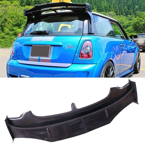 Style Carbon Fiber Trunks Spoiler Fit
