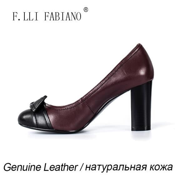 2e26509993d FABIANO 2015 Fashion Sexy Women Ladle Shoes High Heel Butterfly Knot Soft