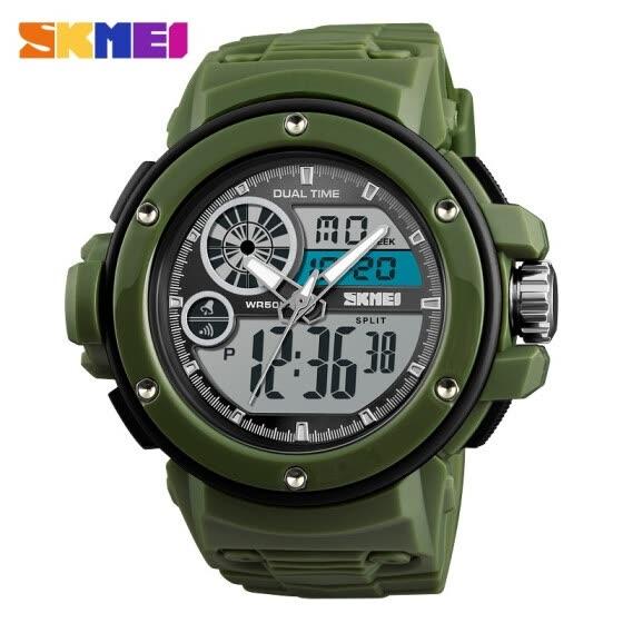 5cbe9f67bb8 SKMEI For men watch Casual chronograph fashion street Sport watch 50 m  Waterproof Digital wrist watch
