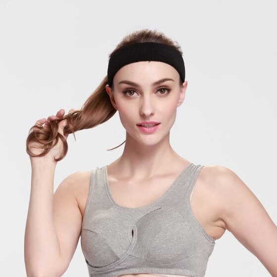 1Pcs Women Sports Sweat sweatband Headband Outdoor Sports Cycling Gym  Stretch Head Band Hair Band 5 0d1cbc6f6e