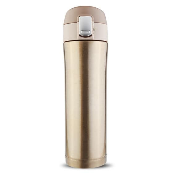 500ML Stainless Steel Vacuum Flask Coffee Cup Travel Mug Good effect of heat insulation Vacuum insulation technology