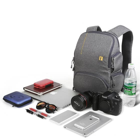 ainogirl   Micro single camera package 70d700d5d3 SLR camera bag photo bag, men's and women's casual shoulder bag quick camera bag