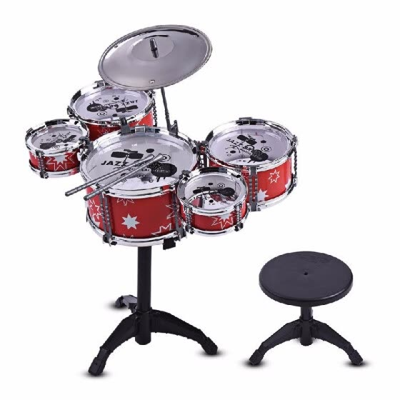 Shop Children Kids Jazz Drum Set Kit Musical Educational Instrument