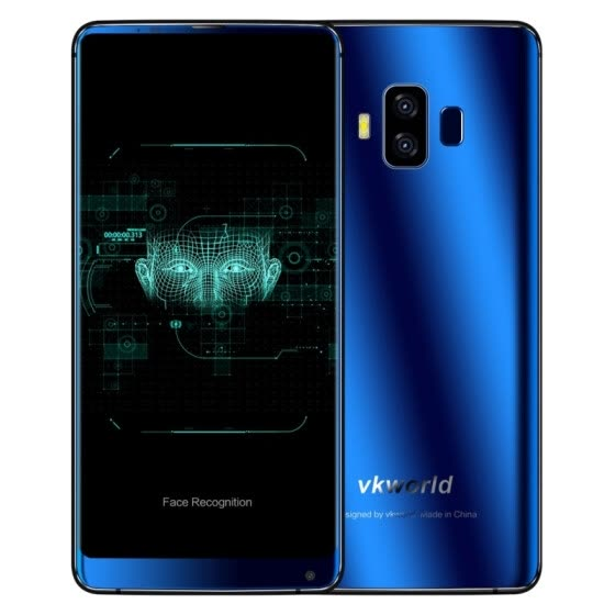VKworld S8, 4GB+64GB, Dual Back Cameras, Face & Fingerprint Identification, 5.99 inch Full Screen Android 7.0, Network: 4G
