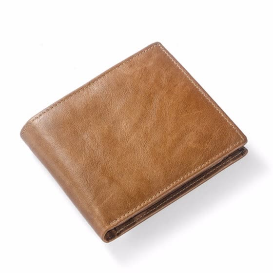 29e7e6bd5861 Wallet for Men-Genuine Leather RFID Blocking Bifold Stylish Wallet As a gift  for dad