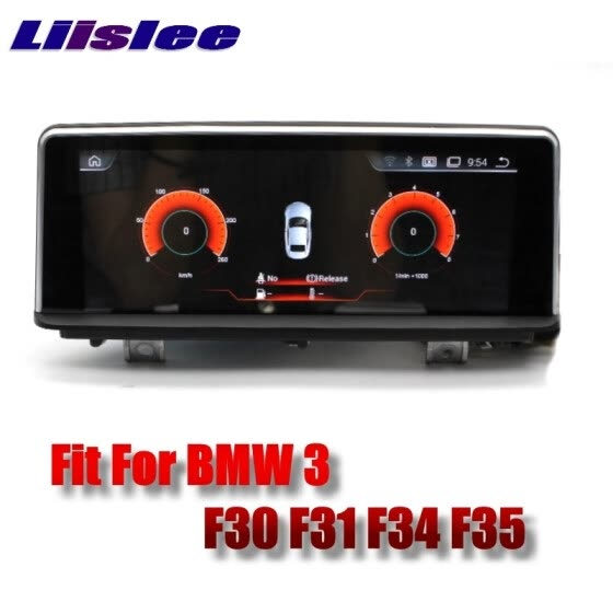 For BMW 3 F30 F31 F34 F35 2011~2017 LiisLee Car Multimedia GPS Audio Hi-Fi Radio Stereo Original Style For NBT Navigation NAVI