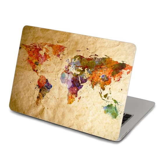 GEEKID@macbook 12 decal stickers macbook pro Top skin maps  macbook Retina 13 decal stickers air sticker macbook Air decal