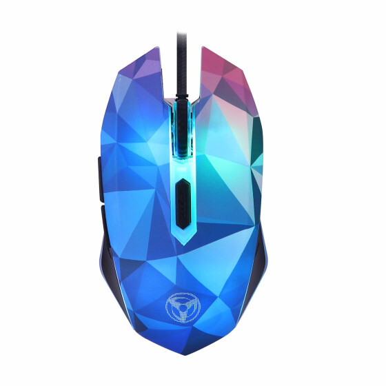 1600 DPI USB LED Lighting Optical Wired Game Mouse Mice For PC Laptop Computer