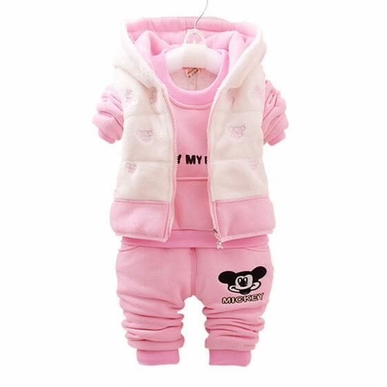 937712708 Shop Fashion Winter Children Clothing Hoodies Sets Infant Waistcoat ...