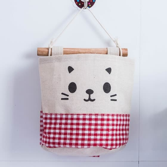 YINUO Multilayer Cloth Wardrobe Hanging Bag Storage Bag Cotton/Maid Wall hanging Hanging Wall Organizer