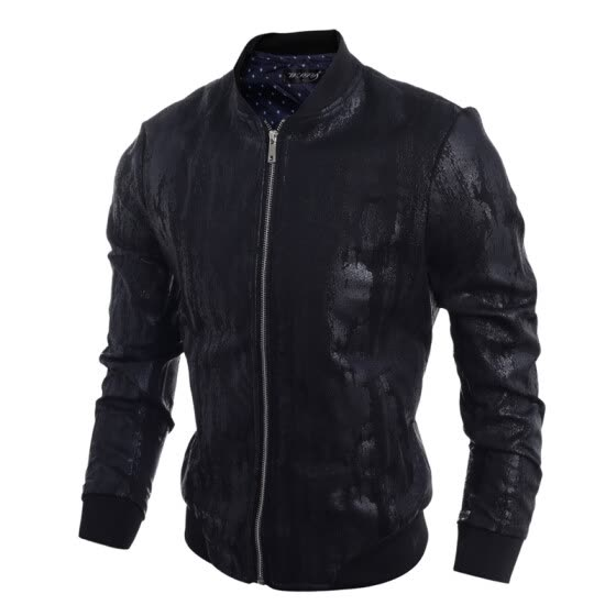 Zogaa New Autumn Men's Jacket Casual Leather