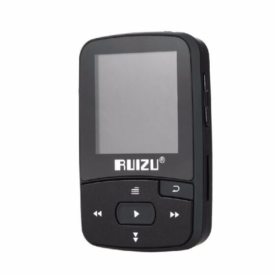 RUIZU X50 8GB MP3 MP4 Music Player HiFi Lossless Sound Pedometer FM TF