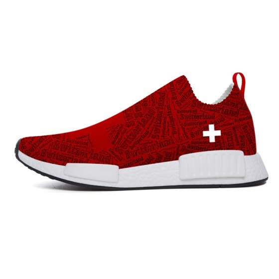 Classic Unisex Switzerland XFND1 Casual Shoes World Cup Print Custom Sneakers