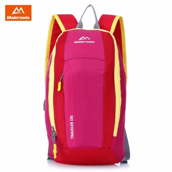MALEROADS 10L Kid  s Portable Lightweight Backpack Mini Water Resistant Camping  Hiking Bag for 4cf15bb3490e9