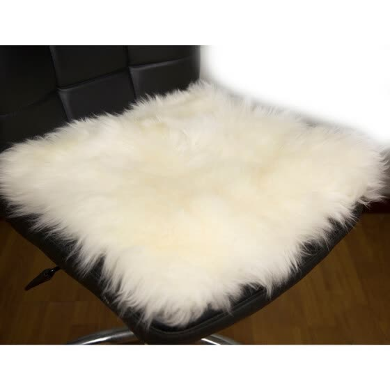 Universal Australian Pure Natural Wool Seat Cover,Thirteen Colors Winter Car Cushion, 1 PCS/ Lot Free Shipping For Russian