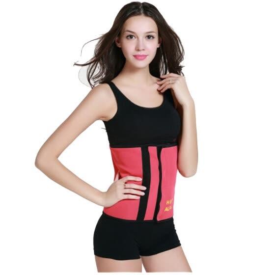 8d4e6b224d448 Sweating Neoprene Waist Trainer Hot Slimming Body Shaper Weight Loss Corset  Sauna Cincher Fitness Gym Sports