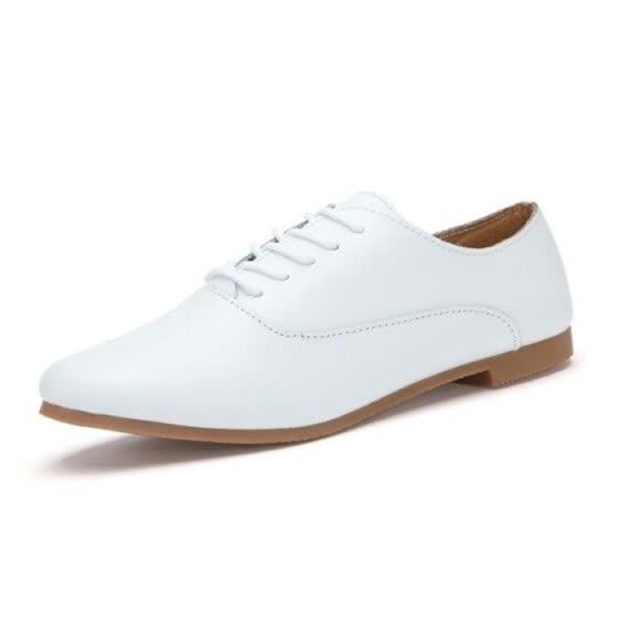 a0a2e1f4c96 Shop 2018 Spring women oxford shoes ballerina flats shoes women ...