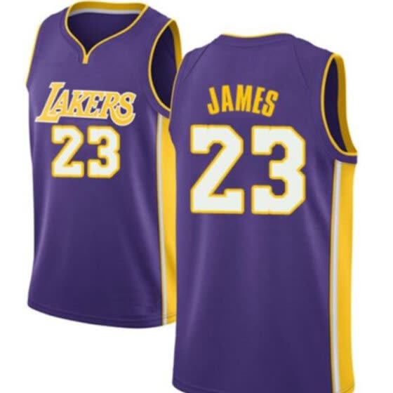 buy popular f6012 bd048 Shop 2018 Top Quality 23 LeBron King Men Jersey 2018 NEW ...