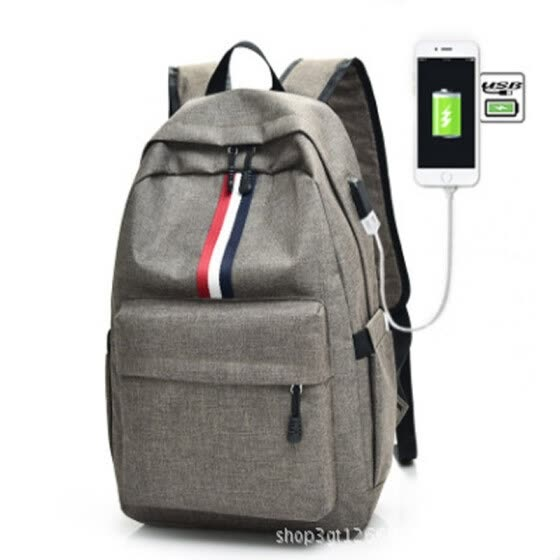 Fashion Double Shoulder Backpack Men s Leisure Travel Bag for Teenage Boys  and Girls Rucksack Computer Student 9552d0f14755f