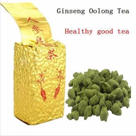 new sale 250g Free Shipping Famous Health Care Tea Taiwan Dong ding Ginseng Oolong Tea Ginseng Oolong ginseng tea +gift Free shipp