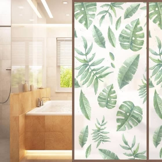 Shop 23 71 Inches Waterproof Frosted Pvc Self Adhesive Glass Door