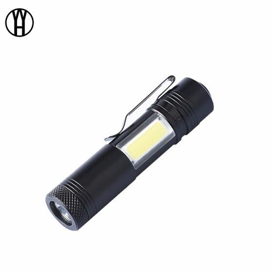 5X Portable Ultra Bright 3W Police Waterproof LED Mini Flashlight Torch Light IR
