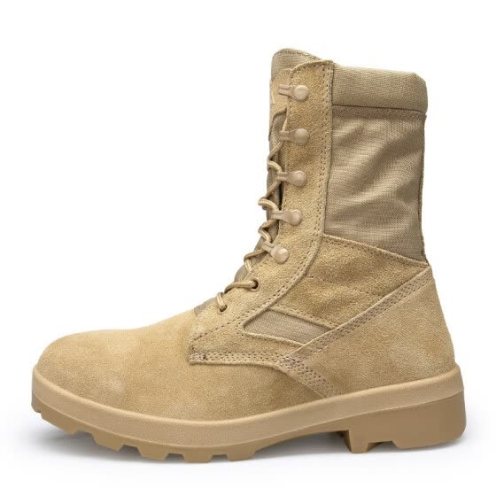 men High quality army boots casual outdoors work climbing shoes Military boots for men