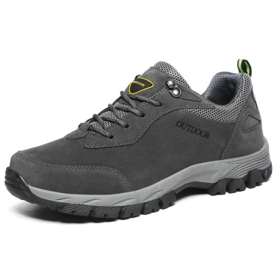 4f2c6dfe1602 Men Running Shoes Waterproof Outdoor Winter Sport Sneakers Lace Up  Comforable Suede Leather Shoes