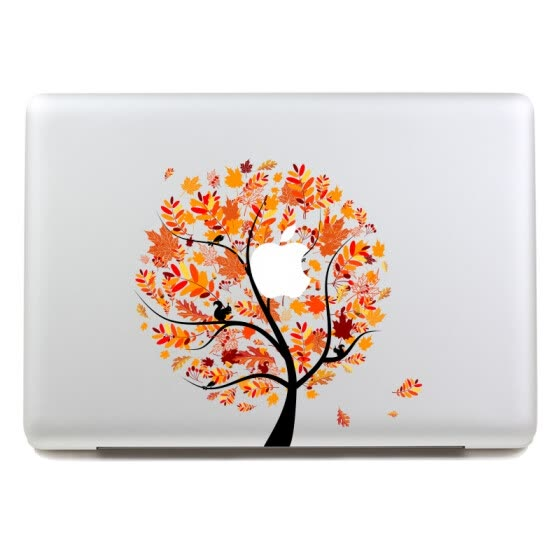 GEEKID@Macbook decal sticker Partial decal Autumn macbook pro decal macbook air decal apple sticker