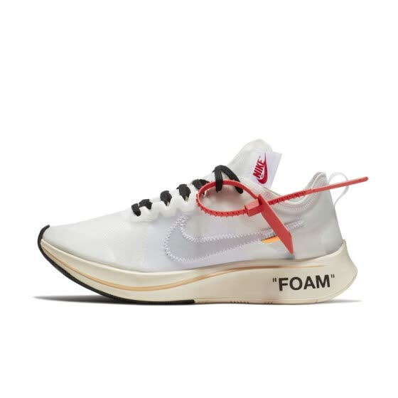 547eeea6228ff Nike Zoom Fly SP 4% X Off White Marathon Men s Running Shoes Shoes Sport  Outdoor