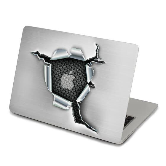 GEEKID@macbook decal stickers Broken macbook pro Top skin macbook Retina 13 decal stickers air sticker macbook Air decal
