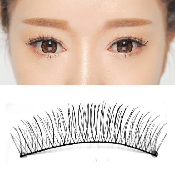 040fc85e351 MyMei 10 Pairs Makeup Handmade Natural Fashion False Eyelashes Eye Lashes  Extension