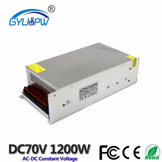 Shop Single Output Switching Power Supply DC70V 1200W