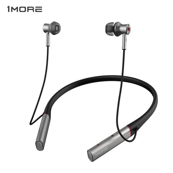 Shop Wanmo 1more Noise Reduction Headphones Bluetooth Headset Headphones In Ear Wireless Headset Apple Android For Mobile Phone Headset Gaming Headset E1004ba Silver Gray Online From Best Headphones On Jd Com Global Site