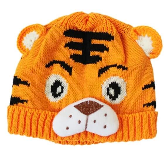 Mymei новый тигр выкройка шапочки новорожденного дети животных