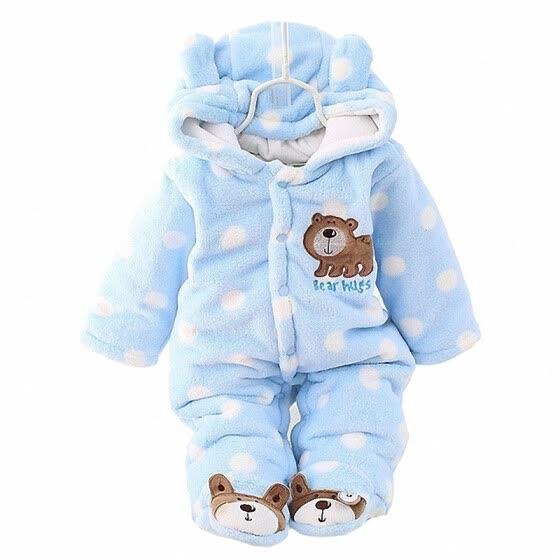 e3f5aedc5 Shop winter Infant clothes children clothing set cartoon soft cotton ...