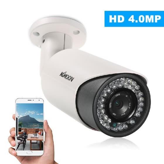 Shop KKmoon 4MP HD POE IP Camera 6mm 1/3