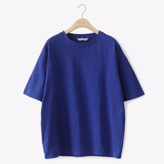 T Shirt Women Cotton Elastic loose Basic T-shirts Female Casual Tops Short Sleeve T-shirt Women