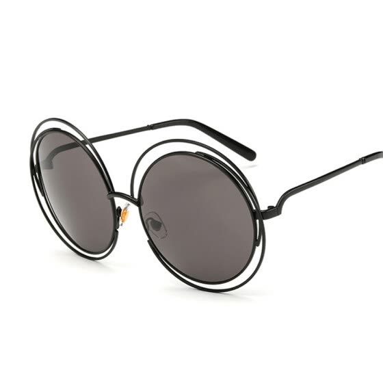 62b6eddc3a FEIDU Fashion Circle Round Sunglasses Women Brand Designer Retro Oversized  Round Frame Sun Glasses Women Oculos