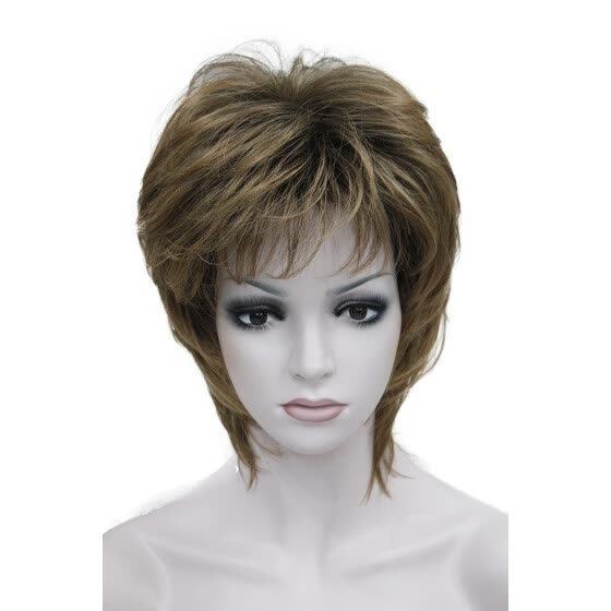 Shop StrongBeauty Short Straight Brown mix