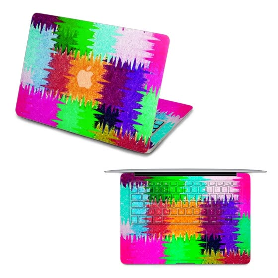 GEEKID@Macbook Pro 15 decal front sticker macbook Air keyboard sticker full decal top sticker US style Colors protector