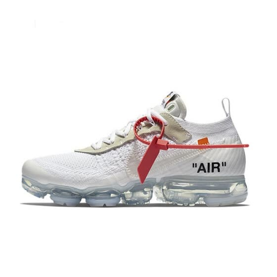 new product 71174 dac16 NIKE x Off White VaporMax 2.0 AIR MAX Unisex Running Shoes Footwear Super  Light Comfortable Sneakers