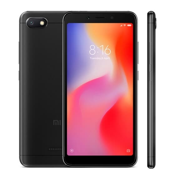 "Глобальная версия Xiaomi Redmi 6A 6 A 2GB 16GB MTK Helio A22 Quad Core 5.45 ""18: 9 Full Screen 13MP камера 3000mAh Мобильный телефон B20"