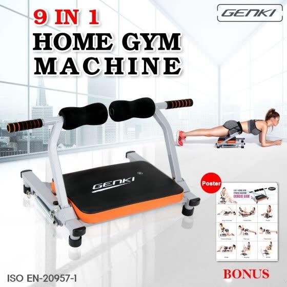 Shop GENKI Wonder Core AB Machine 9 IN 1 Portable Workout Body
