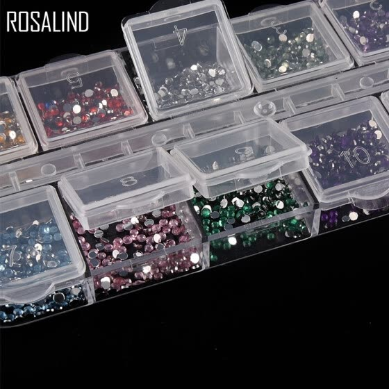 2MM Colorful Rhinestone Crystal Decoration Hotfix Flatback Rhinestones