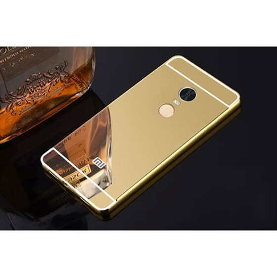 Shop For redmi Note 5 Shining Mirror effect Hybrid case For