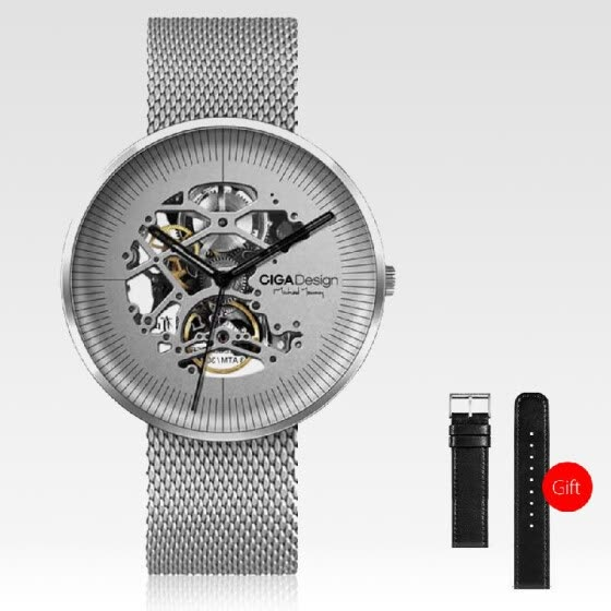 Xiaomi CIGA Design MY Series Men Automatic Mechanical Analog Watch Hollow-out Steel Wrist Watch